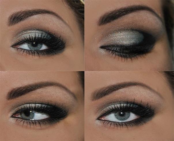 Дымчатые глаза макияж как сделать - NikeCRM