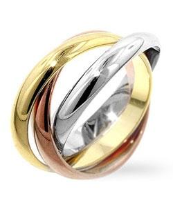 Три вида золота обручальные кольца